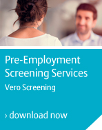 Pre-employment screening - Vero