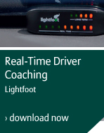 Real-time driver coaching - Lightfoot