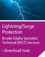 Lightning and power surge protection