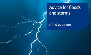 Advice for flood and storms