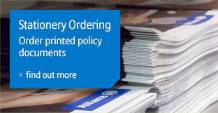 Stationery ordering - image of printed documents