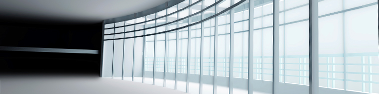 glass windows in office