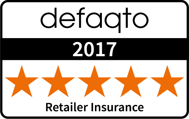 5-star Defaqto Retailer Insurance