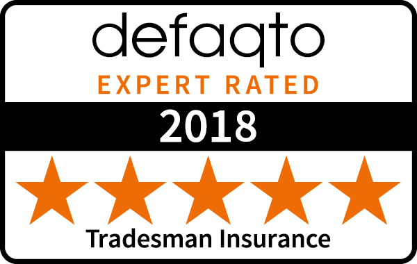 5-star Defaqto Tradesman Insurance