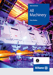 All Machinery cover