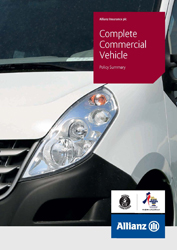 Complete Commercial Vehicle policy summary