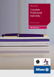 Complete Professional Indemnity - view documents