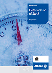 Deterioration of Stock cover