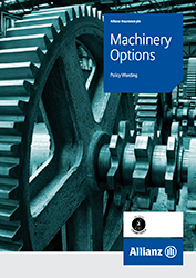 Machinery Options cover