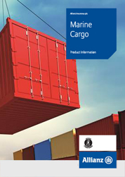 Marine Cargo Product Information cover